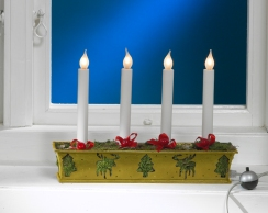 Lumini da muerto da accendere nelle quattro domeniche prima di Natale