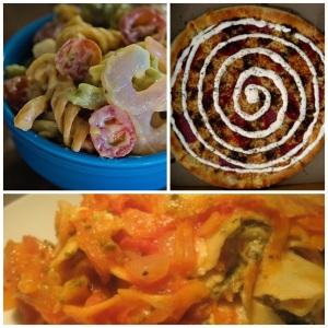 Bearnaise -pasta, -pizza e -lasagne