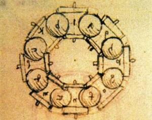 Cuscinetti a sfera © by Leonardo da Vinci, XV century