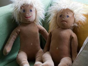 Bambole della scuola primaria Egalia, rigorosamente senza attributi sessuali